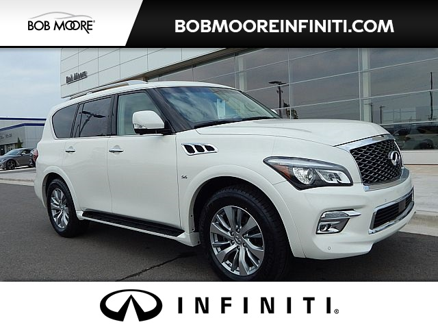 Certified Pre-Owned 2016 INFINITI QX80 Driver Assist AWD