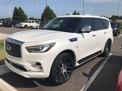 Certified Pre-Owned 2018 INFINITI QX80 DELUXE TECHNOLOGY