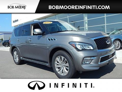 Certified Pre-Owned 2017 INFINITI QX80 DRIVER ASSISTANCE