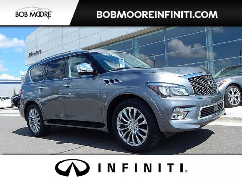 Pre-Owned 2015 INFINITI QX80 DELUXE TECHNOLOGY