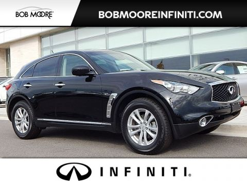 Pre-Owned 2017 INFINITI QX70 CERTIFIED